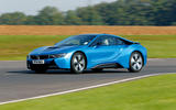BMW i8 2014 - tracking side