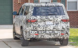 Jeep Grand Wagoneer spy images - rear