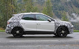 2022 Seat Arona spy images - on the road side