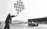 70 years of Formula One - Checkered flag