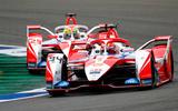95 Alex Lynn Mahindra Formula E 2021 racing