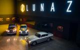 95 Aston Martin DB6 Lunaz EV conversion offical images line up