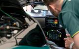 95 Aston Martin Valkyrie Goodwood passenger ride setup