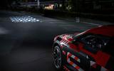 Audi E-tron Sportback prototype matrix headlights - patterns