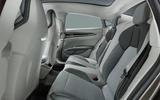 Auto E-tron GT concept official press reveal - rear seats