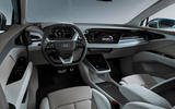 Audi Q4 E-tron electric SUV Geneva 2019 official press images - cabin