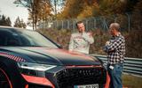 Audi RS Q8 2020 camo ride - talking