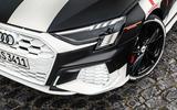 Audi S3 2020 prototype drive - headlights