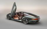 Bentley EXP 100 GT Concept official images - doors