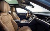 95 Bentley Flying Spur Mulliner official reveal cabin