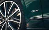 95 Bentley Flying Spur PHEV 2021 official images hybrid badge