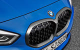 BMW 1 Series 2019 official reveal - kidney grille