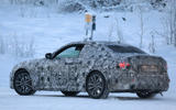 BMW 2 Series Coupe winter test spy images - rear right