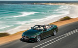 2021 BMW 4 Series Convertible official images - on the road front