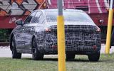 95 BMW 5 Series 2023 spies rear
