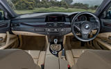 BMW 5 Series E60 road test rewind - cabin