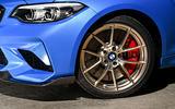BMW CS 2020 official press images - alloy wheels