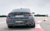 95 BMW i4 2021 prototype drive rear end