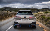 BMW iNext official images - tracking rear end