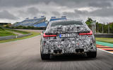 2020 BMW M3 prototype first drive - rear end