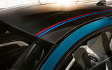 BMW M4 Edition M Heritage official press - roof