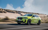 95 BMW X4 M 2021 LCI official images tracking front