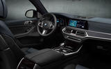 BMW X7 Dark Shadow Edition 2020 official images - dashboard