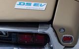 95 Citroen DS EV 2021 official rear badge