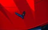 Corvette C8 vs Porsche 911 UK - Corvette badge