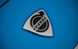 Cyan Volvo P1800 drive - badge