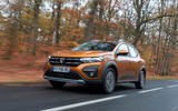 Dacia Sandero Stepway 2021 UK official images - front