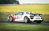 95 fastest cars tested by Autocar Porsche 918 spider