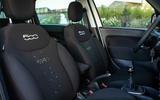 95 Fiat 500 Hey Google seats