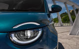 Fiat 500 electric 2020 official press images - front lights