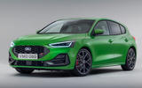 95 Ford Focus 2021 refresh official images ST front