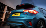 Ford Focus ST 2019 first ride - rear lights