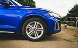 95 Genesis vs Audi twin test 2021 audi alloys