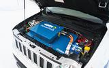 GKN Jeep Renegade eAWD prototype 2020 drive - battery