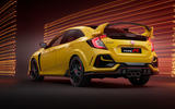 Honda Civic Type R limited edition 2020 official press photos - rear