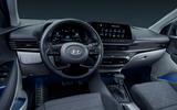 95 Hyundai Bayon 2021 official images dashboard