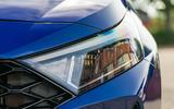 Hyundai i20 2020 prototype drive - headlights