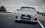 2021 Hyundai i20 N prototype drive - track nose