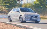 2021 Hyundai i30 Fastback N prototype drive - track front