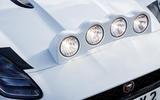 Jaguar F-Type rally car 2019 driven spotlights