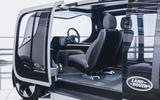 Jaguar Land Rover Project Vector official images - interior