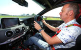 99 Kia Stinger GT420 racer - James Disdale driving