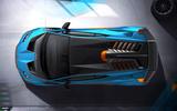 Lamborghini Huracan STO 2020 official images - aerial
