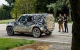 2020 Land Rover Defender prototype ride - Matt Saunders speaking rear