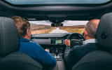 Land Rover Range Rover Evoque 2019 first ride review - Steve Cropley passenger 1