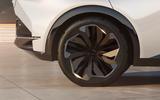 95 Lexus LF Z concept official images alloy wheels